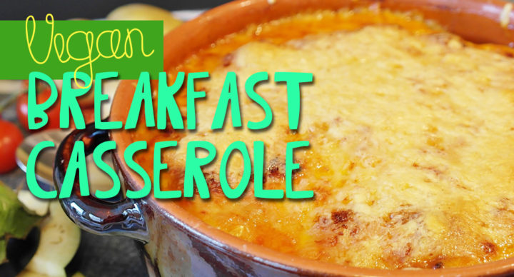 Vegan Breakfast Biscuit Casserole | From NamelyMarly.com
